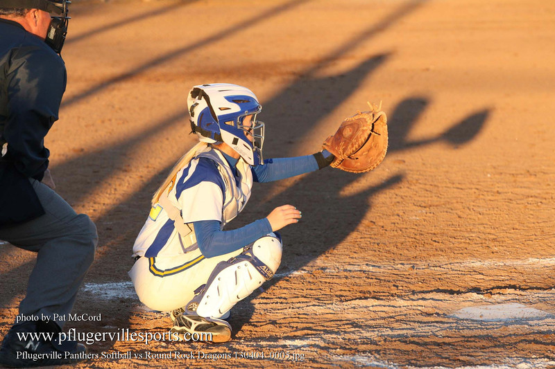 Pflugerville Panthers Softball vs Round Rock Dragons 130404_0005
