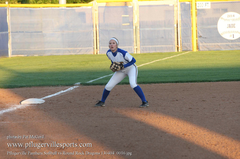 Pflugerville Panthers Softball vs Round Rock Dragons 130404_0016