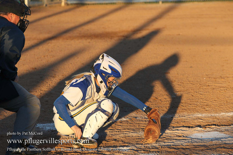 Pflugerville Panthers Softball vs Round Rock Dragons 130404_0002