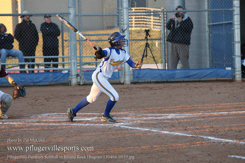 Pflugerville Panthers Softball vs Round Rock Dragons 130404_0019