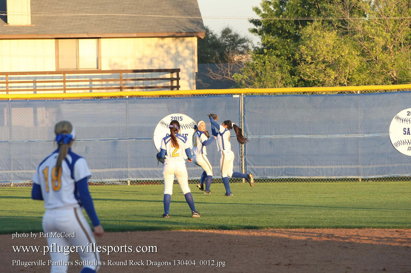 Pflugerville Panthers Softball vs Round Rock Dragons 130404_0012