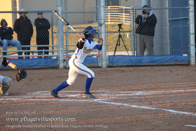 Pflugerville Panthers Softball vs Round Rock Dragons 130404_0018