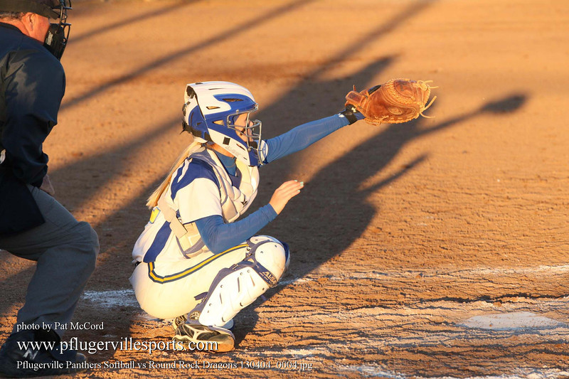 Pflugerville Panthers Softball vs Round Rock Dragons 130404_0004