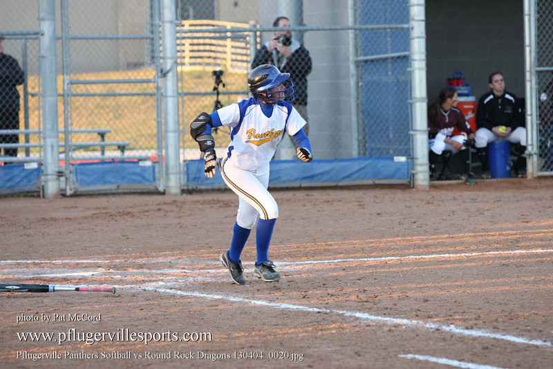 Pflugerville Panthers Softball vs Round Rock Dragons 130404_0020