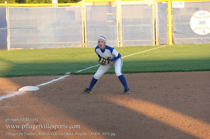 Pflugerville Panthers Softball vs Round Rock Dragons 130404_0015
