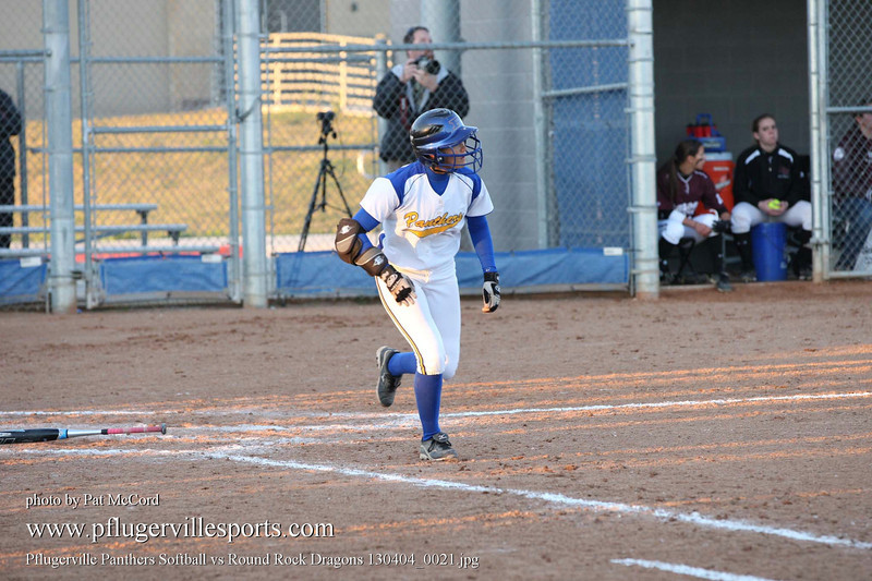 Pflugerville Panthers Softball vs Round Rock Dragons 130404_0021