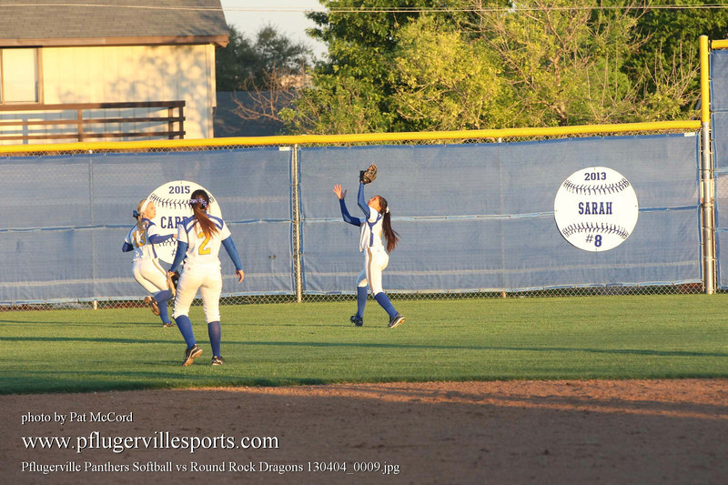 Pflugerville Panthers Softball vs Round Rock Dragons 130404_0009