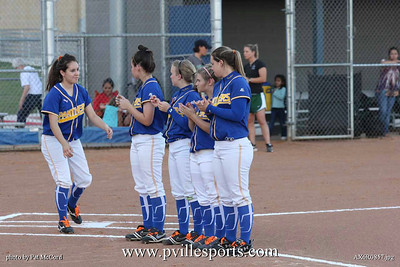 Panther Softball vs. Connally Cougars