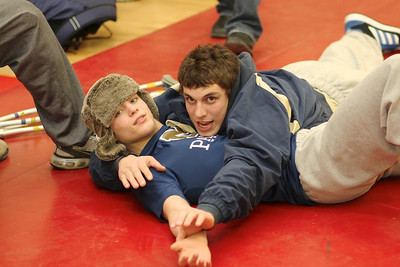 Chandler & Shane before Finals