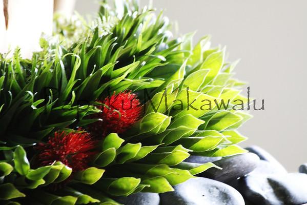Lehua, Kukui,  Lauae<br /> (c) Pualani Kanahele