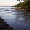 Anahulu River at Haleiwa<br /> River still surging 2 days after March 2011 Tsunami<br /> (c) Kalei Nuuhiwa