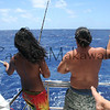 fourth catch<br /> Summer Solstice<br /> 6.21.07<br /> Morning outside of Nihoa<br /> (c) Kalei Nuuhiwa