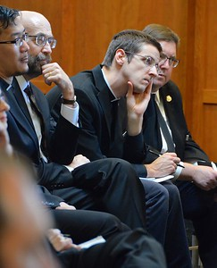 SHSST seminarians listen to the archbishop
