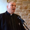 Fr. Zbigniew Morawiec, SCJ, associate director of Human Formation, was the final respondent of the afternoon.