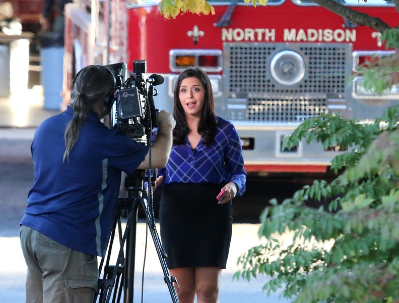 FOX61 reporter Jenna Deangelis