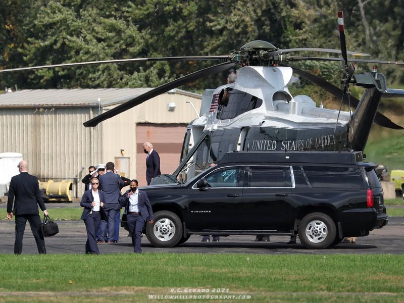 President Biden at Hartford, CT.