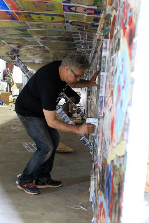 . Jerry Beck Paper plane SENTINEL&ENTERPRISE/Scott LaPrade