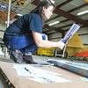 Coraly Riveria Paper plane SENTINEL&ENTERPRISE/Scott LaPrade