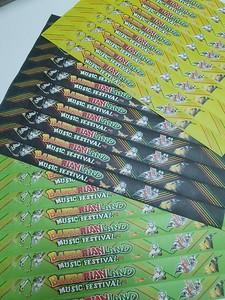 ริสแบนด์กระดาษ tyvek งาน MUSIC FESTIVAL