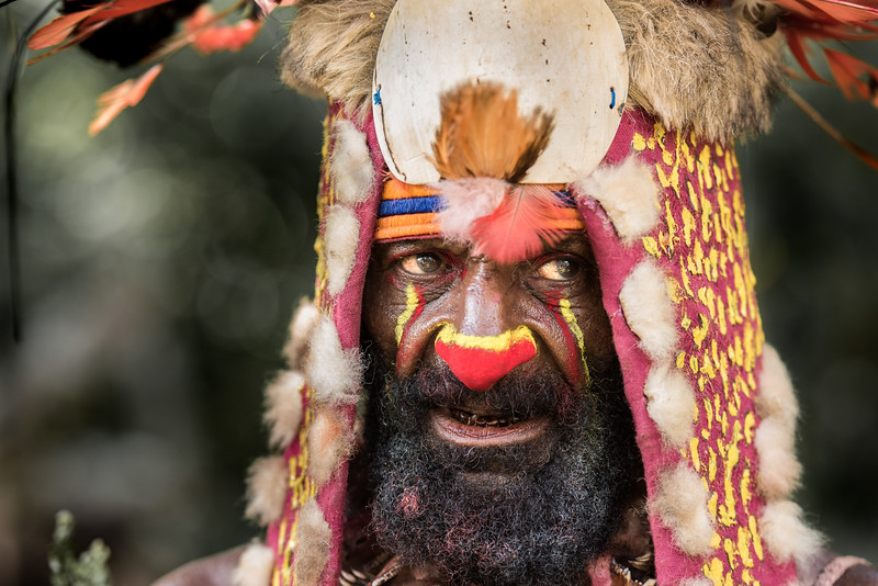 Bearded tribesman