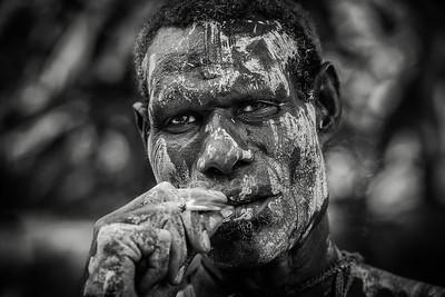 Papuan portrait
