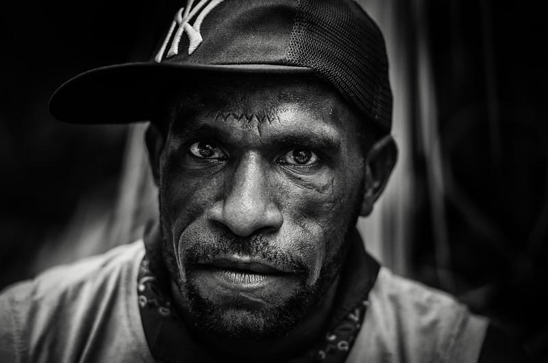 Papuan man