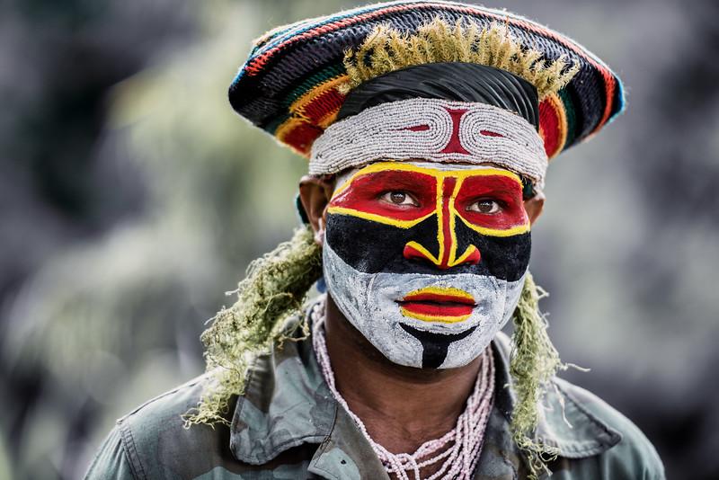Kunai tribesman