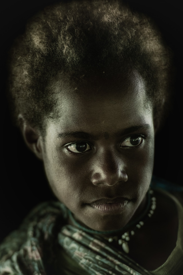 Girl of Papua