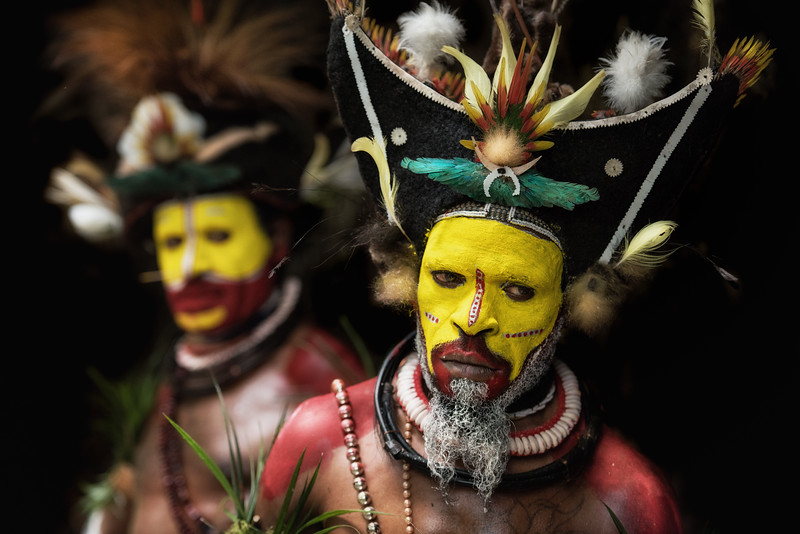 The wigmen, Niugini