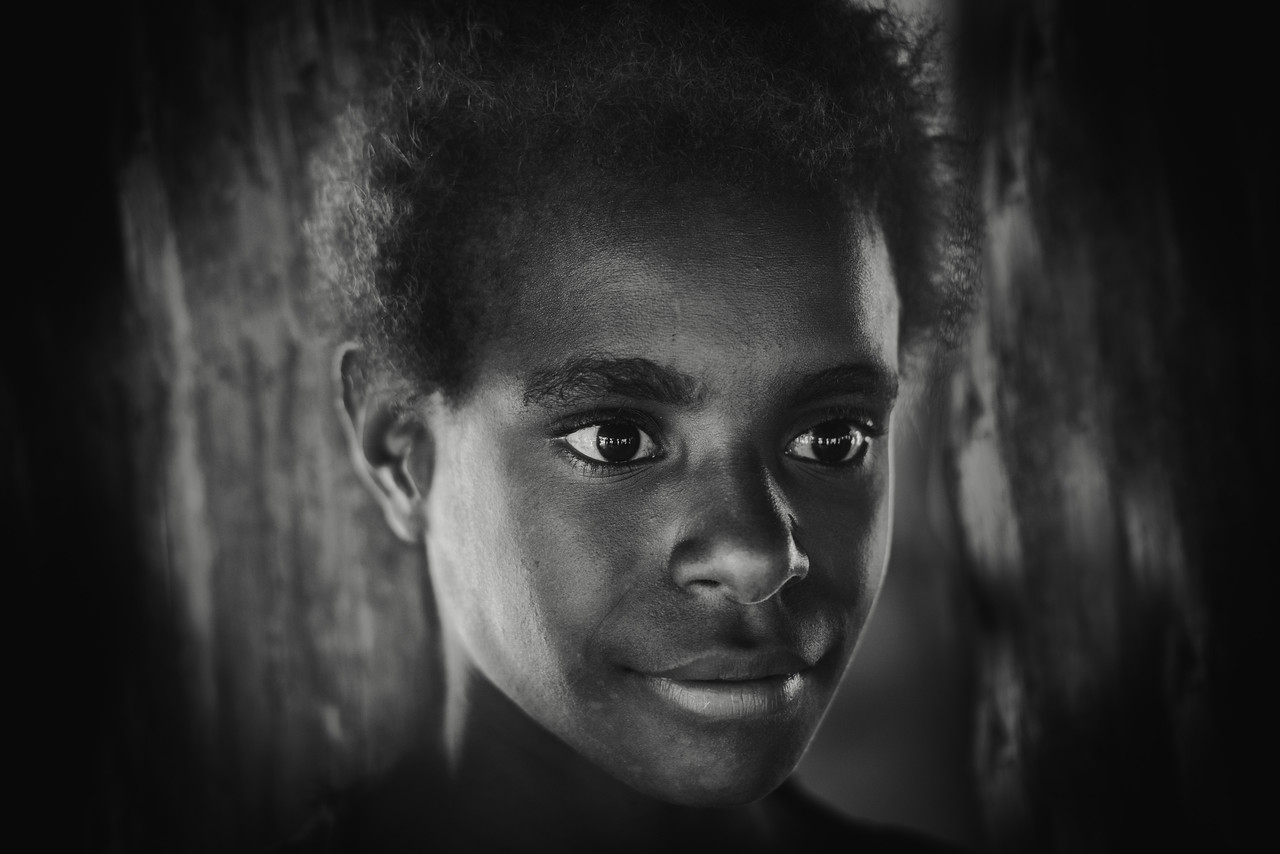 Young Papuan girl