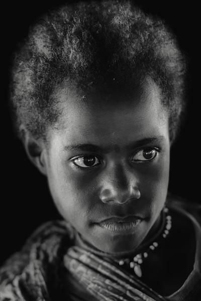 Papuan girl beauty