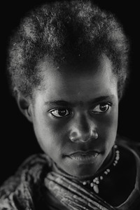 Papuan girl beauty