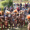 Getting Ready for a Sing Sing at Rally, Southern Highlands, Papua New Guinea