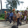 Candidate in Blue Shirt in Middle, Southern Highlands, Papua New Guinea