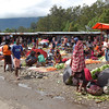 Local market outside of the main Baliem Valley town of Wamena
