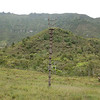 Lookout tower for sentry to watch for attack on village. From recent past when warfare more common. Baliem Valley, West Papua