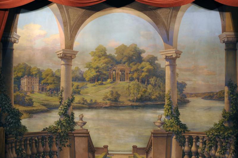 Knights' Hall in The House of Par Bricole - Haga Backdrop 1
