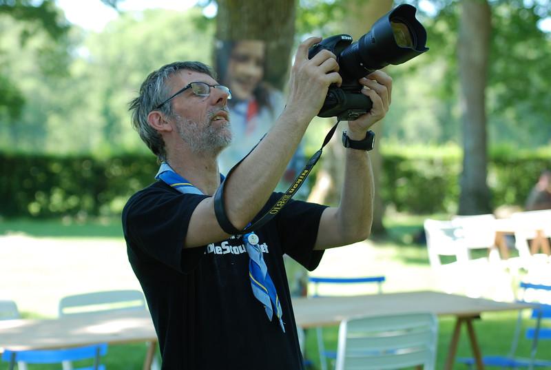 Patrick, photographe pour LaToileScoute, n'a pas pris cette photo-ci.