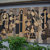 La fresque chrétienne du jardin interreligieux