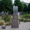 Le monument juif du jardin interreligieux
