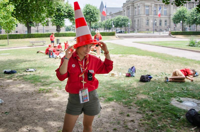 Elégance et prestance, Scouts et Guides de France