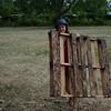 Rangement du tas de bois chez Emmaüs
