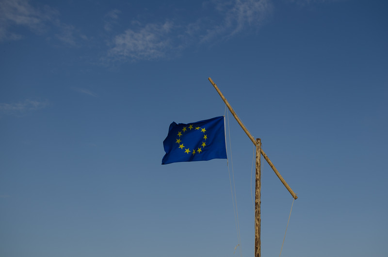 Le drapeau européen vole sur You're Up