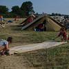 Pliage de tente
