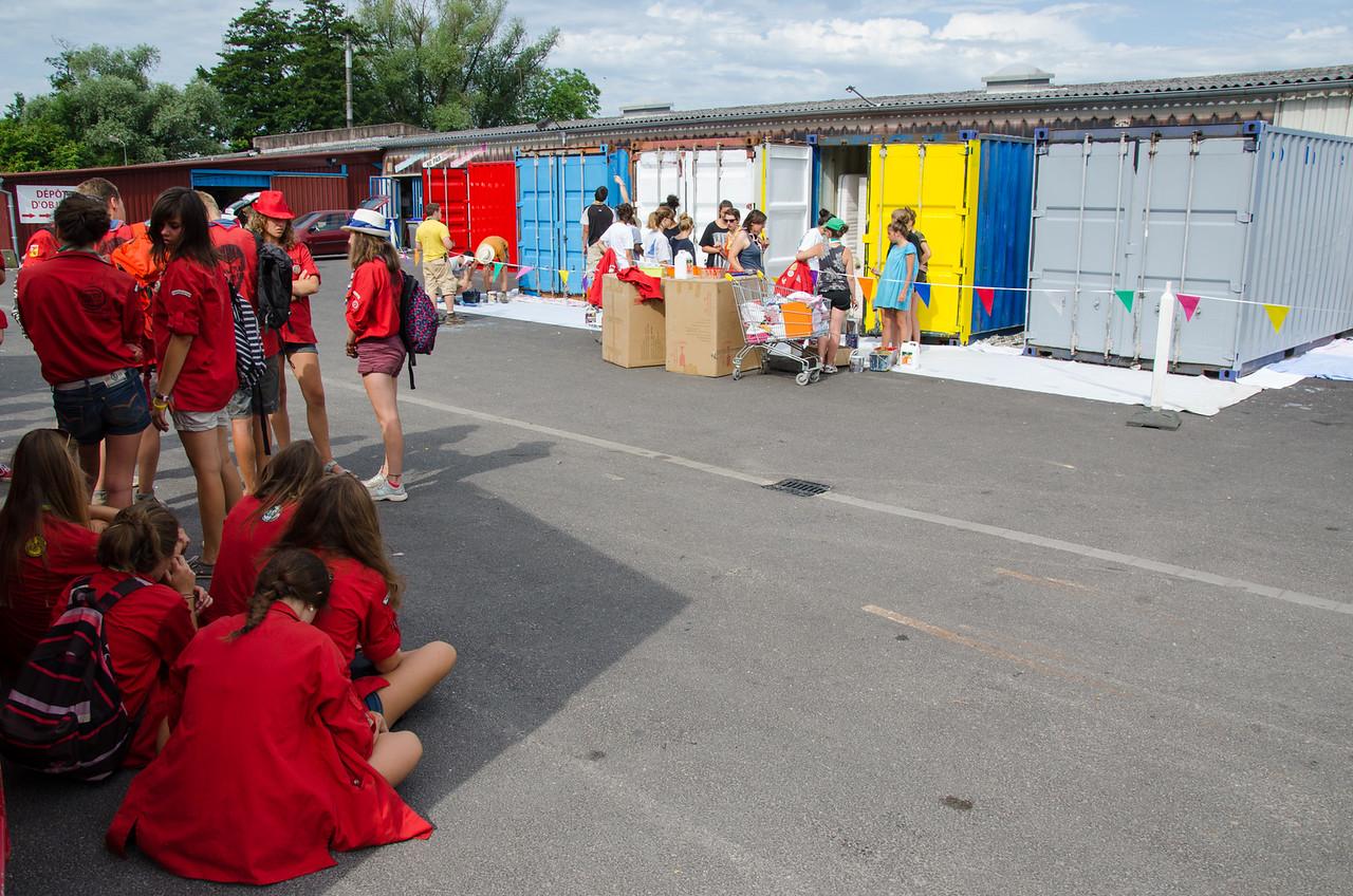 Peinture de containers