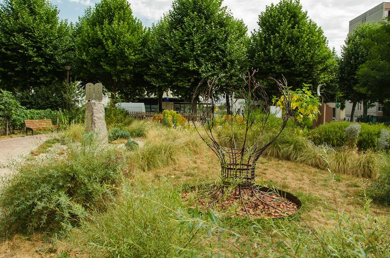 Jardin inter-religieux de Strasbourg