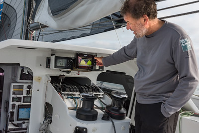 Vérification des instruments de bord (calcul des marée)