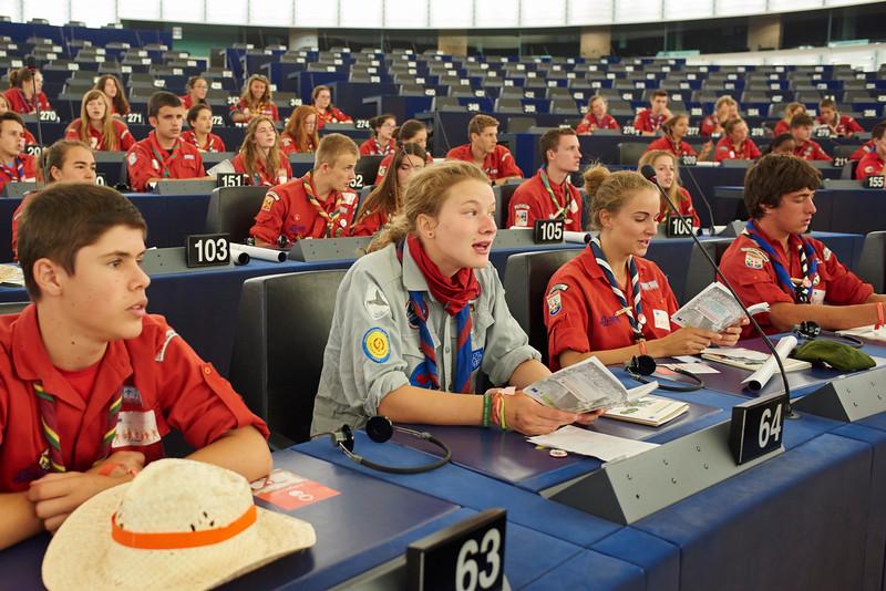 Les représentants des pays européens sont aussi présents