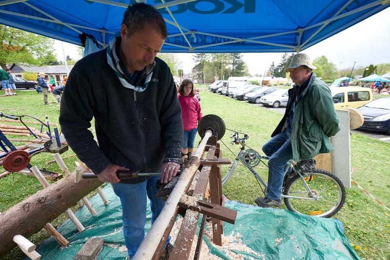 Le vélo tour à bois !
