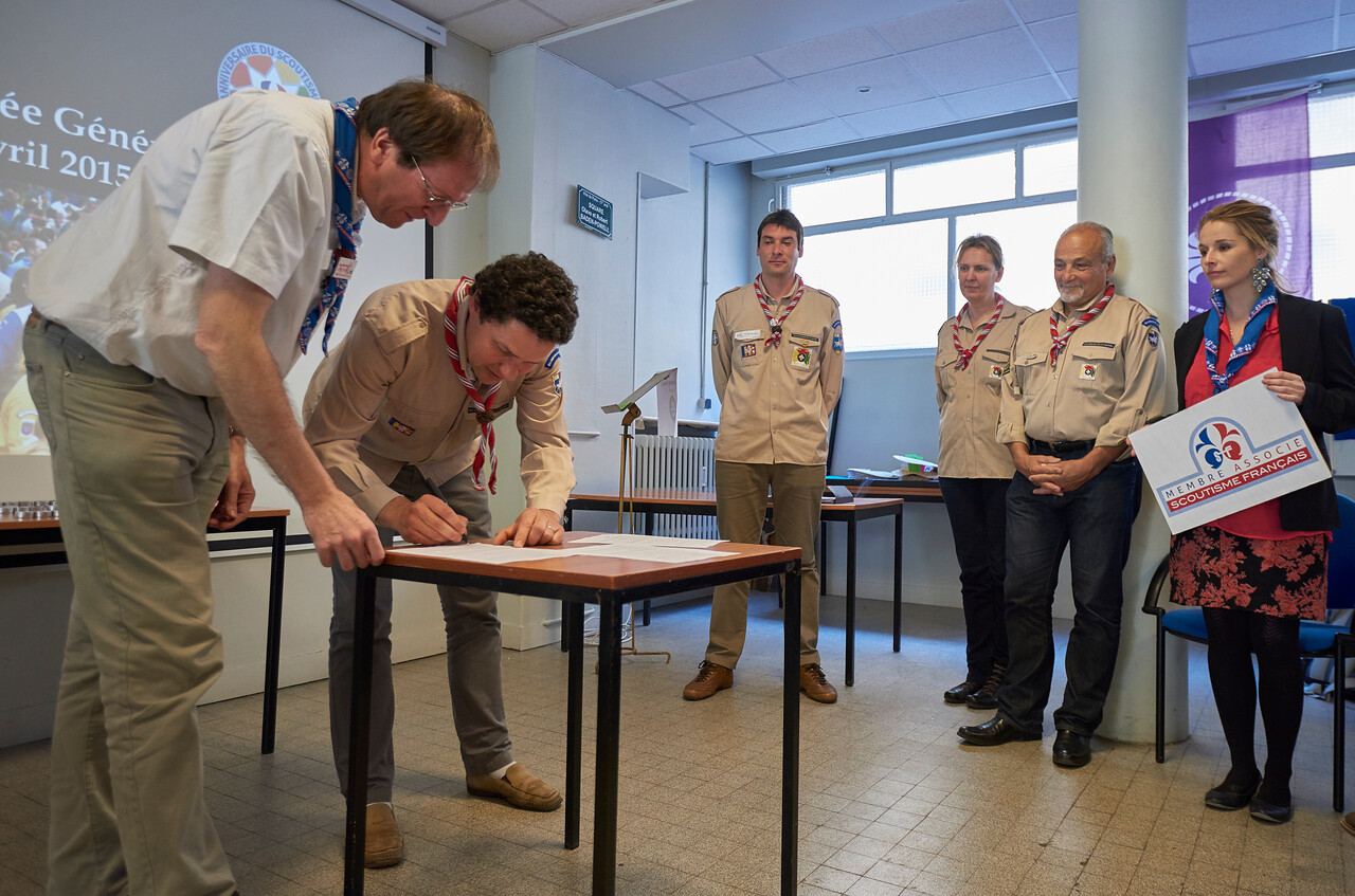 Les Eclaireurs De La Nature deviennent membres associés du Scoutisme Français